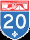 Autoroute 20