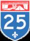 Autoroute 25