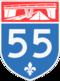 Autoroute 55