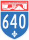 Autoroute 640
