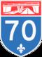 Autoroute 70