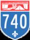 Autoroute 740
