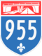 Autoroute 955